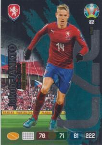 Adrenalyn Euro 2020 - 096 - Jakub Jankto (Czech Republic) - Fans' Favourite