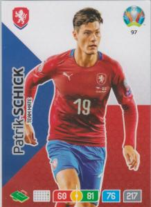 Adrenalyn Euro 2020 - 097 - Patrik Schick (Czech Republic) - Fans' Favourite