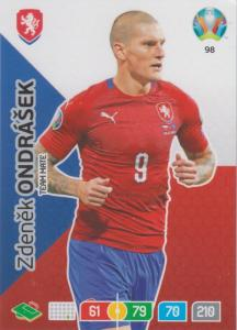 Adrenalyn Euro 2020 - 098 - Zdeněk Ondrášek / Zdenek Ondrasek (Czech Republic) - Fans' Favourite