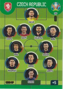 Adrenalyn Euro 2020 - 099 - Line-Up (Czech Republic) - Line-Up