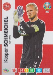 Adrenalyn Euro 2020 - 101 - Kasper Schmeichel (Denmark) - Team Mate