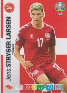 Adrenalyn Euro 2020 - 102 - Jens Stryger Larsen (Denmark) - Team Mate