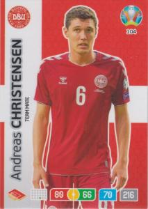 Adrenalyn Euro 2020 - 104 - Andreas Christensen (Denmark) - Team Mate