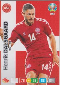 Adrenalyn Euro 2020 - 105 - Henrik Dalsgaard (Denmark) - Team Mate