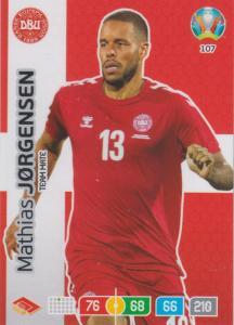Adrenalyn Euro 2020 - 107 - Mathias Jørgensen / Mathias Jorgensen (Denmark) - Team Mate