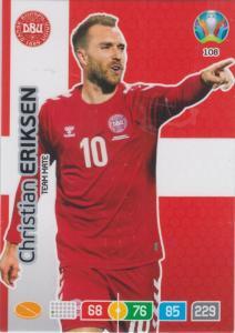 Adrenalyn Euro 2020 - 108 - Christian Eriksen (Denmark) - Team Mate