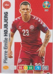 Adrenalyn Euro 2020 - 109 - Pierre Emile Højbjerg / Pierre Emile Hojbjerg (Denmark) - Team Mate