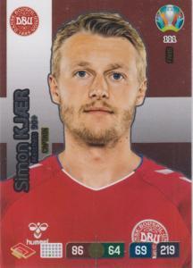 Adrenalyn Euro 2020 - 111 - Simon Kjær / Simon Kjaer (Denmark) - Captain