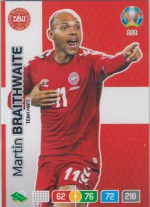 Adrenalyn Euro 2020 - 112 - Martin Braithwaite (Denmark) - Team Mate