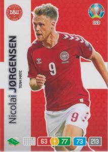 Adrenalyn Euro 2020 - 113 - Nicolai Jørgensen / Nicolai Jorgensen (Denmark) - Team Mate