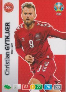 Adrenalyn Euro 2020 - 116 - Christian Gytkjær / Christian Gytkjaer (Denmark) - Team Mate
