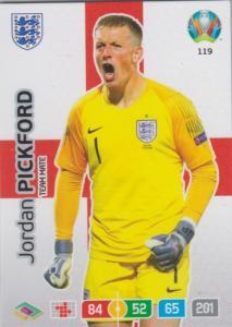 Adrenalyn Euro 2020 - 119 - Jordan Pickford (England) - Team Mate