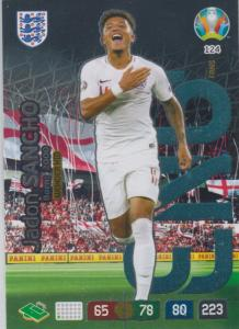 Adrenalyn Euro 2020 - 124 - Jadon Sancho (England) - Wonderkid