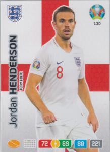 Adrenalyn Euro 2020 - 130 - Jordan Henderson (England) - Team Mate