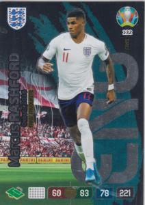 Adrenalyn Euro 2020 - 132 - Marcus Rashford (England) - Fans' Favourite