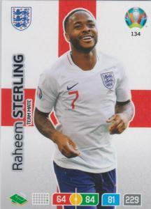 Adrenalyn Euro 2020 - 134 - Raheem Sterling (England) - Team Mate
