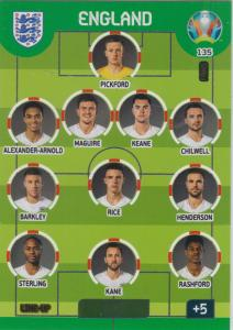 Adrenalyn Euro 2020 - 135 - Line-Up (England) - Line-Up