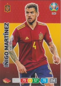 Adrenalyn Euro 2020 - 140 - Iñigo Martínez / Inigo Martinez (Spain) - Team Mate