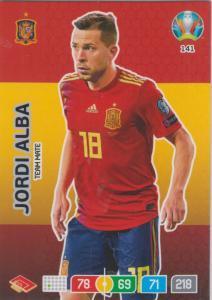 Adrenalyn Euro 2020 - 141 - Jordi Alba (Spain) - Team Mate