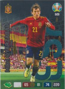 Adrenalyn Euro 2020 - 142 - Mikel Oyarzabal (Spain) - Wonderkid