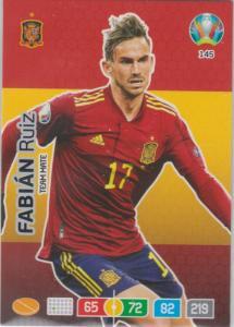 Adrenalyn Euro 2020 - 145 - Fabián Ruiz / Fabian Ruiz (Spain) - Team Mate