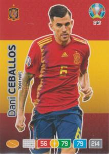 Adrenalyn Euro 2020 - 146 - Dani Ceballos (Spain) - Team Mate