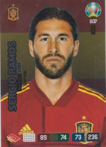 Adrenalyn Euro 2020 - 147 - Sergio Ramos (Spain) - Captain