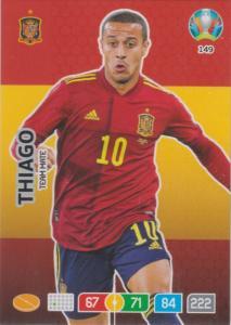 Adrenalyn Euro 2020 - 149 - Thiago (Spain) - Team Mate