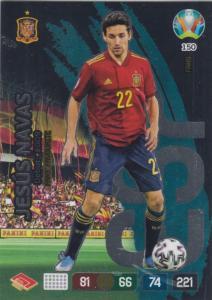 Adrenalyn Euro 2020 - 150 - Jesús Navas / Jesus Navas (Spain) - Fans' Favourite