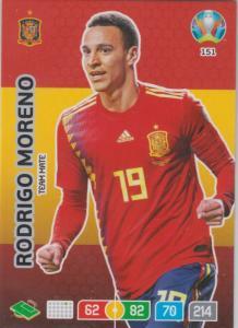 Adrenalyn Euro 2020 - 151 - Rodrigo Moreno (Spain) - Team Mate