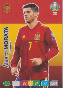 Adrenalyn Euro 2020 - 152 - Alvaro Morata (Spain) - Team Mate