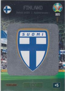 Adrenalyn Euro 2020 - 154 - Team Logo (Finland) - Team Logo