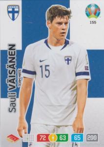 Adrenalyn Euro 2020 - 155 - Sauli Väisänen (Finland) - Team Mate