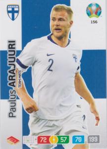 Adrenalyn Euro 2020 - 156 - Paulus Arajuuri (Finland) - Team Mate