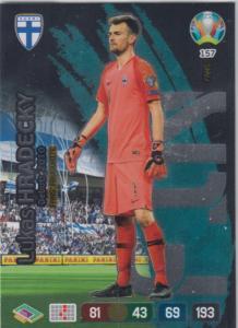 Adrenalyn Euro 2020 - 157 - Lukáš Hrádecký / Lukas Hradecky (Finland) - Fans' Favourite