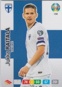 Adrenalyn Euro 2020 - 158 - Jukka Raitala (Finland) - Team Mate