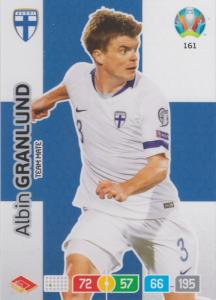 Adrenalyn Euro 2020 - 161 - Albin Granlund (Finland) - Team Mate