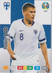 Adrenalyn Euro 2020 - 163 - Robin Lod (Finland) - Team Mate