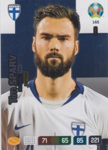 Adrenalyn Euro 2020 - 165 - Tim Sparv (Finland) - Captain