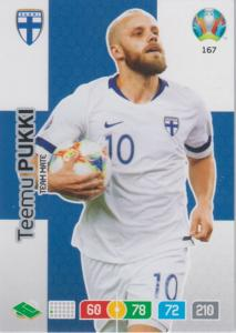 Adrenalyn Euro 2020 - 167 - Teemu Pukki (Finland) - Team Mate