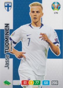 Adrenalyn Euro 2020 - 170 - Jasse Tuominen (Finland) - Team Mate