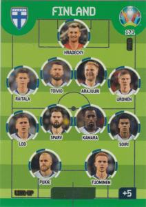 Adrenalyn Euro 2020 - 171 - Line-Up (Finland) - Line-Up