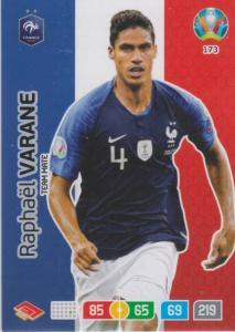 Adrenalyn Euro 2020 - 173 - Raphaël Varane (France) - Team Mate