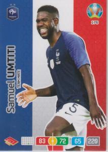 Adrenalyn Euro 2020 - 176 - Samuel Umtiti (France) - Team Mate