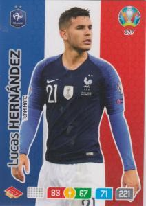 Adrenalyn Euro 2020 - 177 - Lucas Hernández (France) - Team Mate