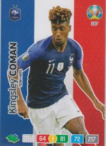 Adrenalyn Euro 2020 - 187 - Kingsley Coman (France) - Team Mate