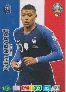 Adrenalyn Euro 2020 - 188 - Kylian Mbappé / Kylian Mbappe (France) - Team Mate