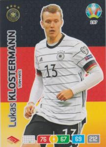 Adrenalyn Euro 2020 - 197 - Lukas Klostermann (Germany) - Team Mate