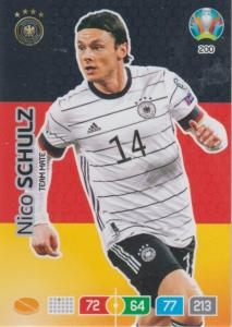 Adrenalyn Euro 2020 - 200 - Nico Schulz (Germany) - Team Mate