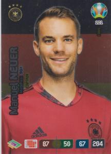 Adrenalyn Euro 2020 - 201 - Manuel Neuer (Germany) - Captain